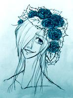 Icy Flowercrown by bunslake