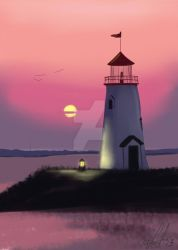 Lighthouse by sandygrimm2000
