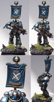 Astral Knights Primaris Marine by TheEternalRanger