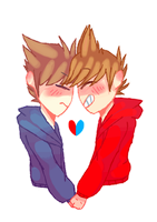 [Eddsworld] Couple (GIF) by HuiRou