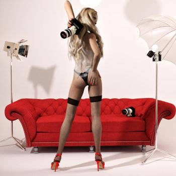 Pin-up Photo Shoot by Roy3D