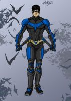 Nightwing - Dick Grayson by celsohenrique
