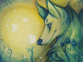Fox Grove Spirit And His Lover by Northfarthing