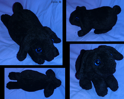 Lop Eared Rabbit - plushie, PATTERNS, TUTORIAL by IsisMasshiro