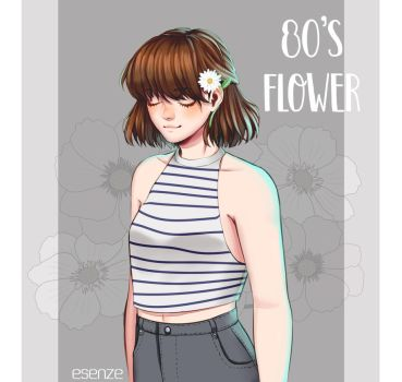 80's Flower by Esenze