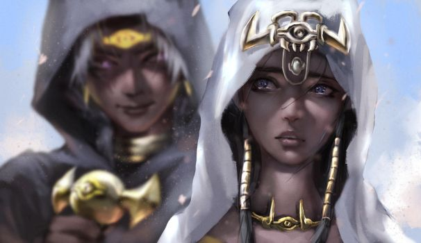 Ishtar Sibling by fate-fiction