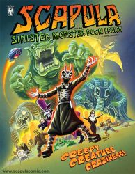 Scapula and the Sinister Monster Doom Legion by DadaHyena