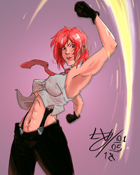 Vanessa - King Of Fighters by TioTonyRedgrave