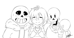 Undertale//Collab by gloriapainthtf