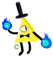 Bill Cipher by Moomuu