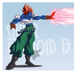 Super Android 13 by PhantomStudio-Tommy