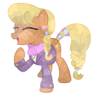 Crystal Ms. Harshwhinny by CloudyGlow