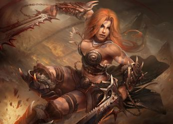 Barbarian by TamplierPainter
