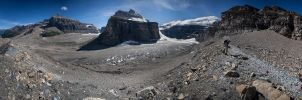 Plain Of Six Glaciers by Dani-Lefrancois