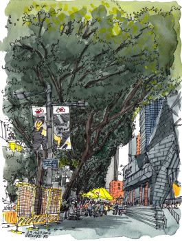 Orchard Road, Singapore (29 March 2014) by parka