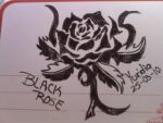 Black rose :D by LunaNegra1949