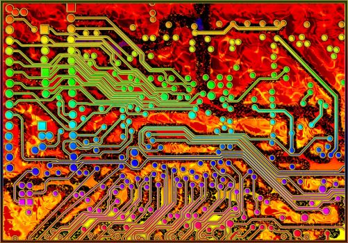 Circuit Board 5 1200 by mdichow