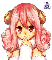 Aries|Fairy Tail Render by celestialwizzard