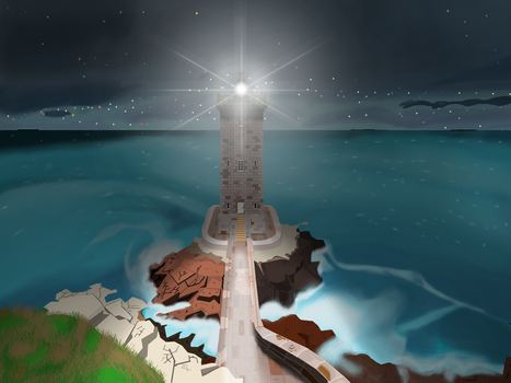 Background 3 night time by MunchTG