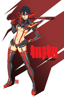 KILL la KILL - Ryuko Matoi by artofJEPROX