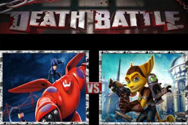 Death Battle|Hiro and Baymax VS Ratchet and Clank by JackSkellington416