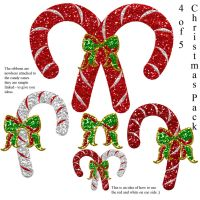 Christmas pack 4 of 5 - Candy by Hermit-stock