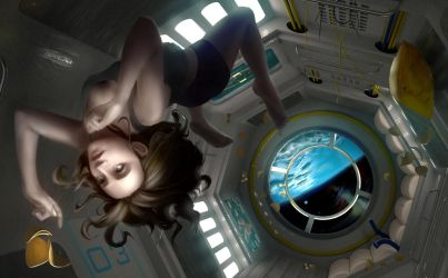 Sere in space by Ancharia