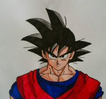 Goku Base Form by Demy by Demy111