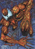 CARNAGE PERSONAL SKETCH CARD 2012A by AHochrein2010