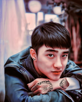 Do Kyungsoo by bubble-min