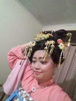 hanfu test make up by seawaterwitch