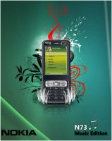 Nokia N73 Music Edition by Creamania