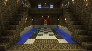 Minecraft Wood House by Arcticus1010