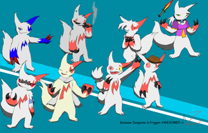 Zangoose Galore ^w^ by Arcticsage-Zaiphod