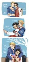 Stony College AU by SiliceB