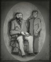 Doctor With His Son by RadioactiveNemofish