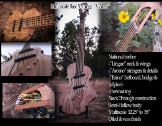 Multiscale 5 string bass - Violeta by PtolemaiosLS