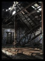 fallen roof by brandybuck