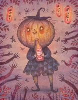 The Pumpkin Witch by V-L-A-D-I-M-I-R