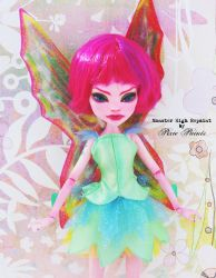 Dru the Dragonfly Fairy - Monster High Repaint by PixiePaints