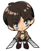 Attack on Titan Eren by JoeOiii