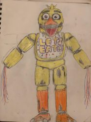 Withered Original Chica by Fazscare87