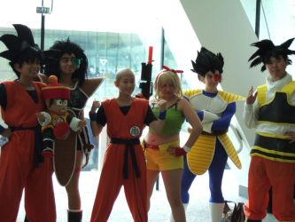 Otakon 2008 - DBZ by Shirukai