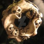 Bone Frill Ornament