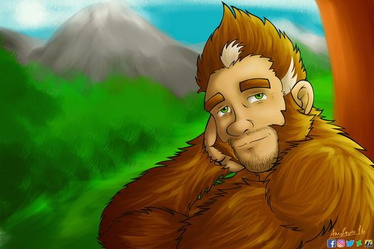 Bigfoot Chill by AniLover16