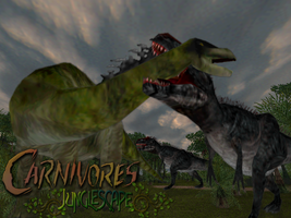 Carnivores Junglescape: A Tale of  two Gigas by Keegz97