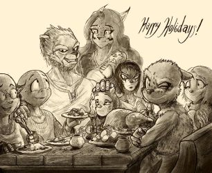 Family Time by darkspeeds