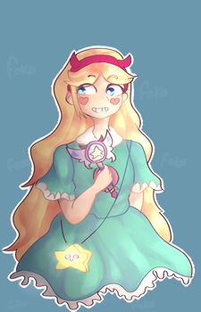 Star Butterfly by fofko