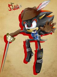 Shadow the Hedgehog as a Musketeer by TothViki
