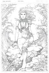 Aspen Commission Line Art by Carl-Riley-Art